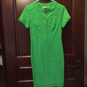 Diane Von Furstenberg Lime Green Dress